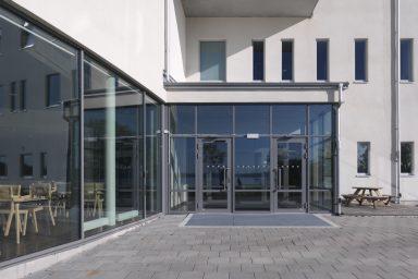 Aluminiumdörr från GlasLindberg