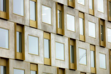 Kontorshuset Auras fasad